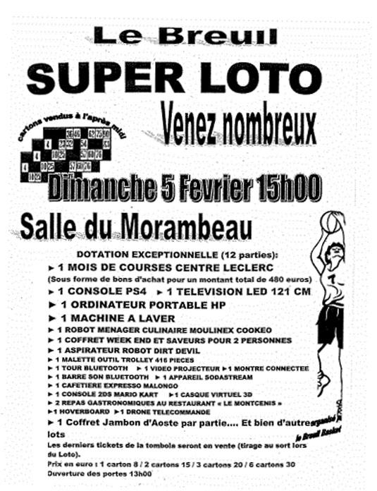 Super loto le breuil en bourgogne site officiel - Barre de son leclerc ...